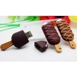 Chocolate ice cream USB flash drive