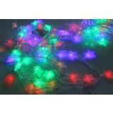Christmas stars decoration LED holiday lights