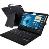 Clamshell Case with Bluetooth Keyboard for Samsung Galaxy note 10.1 n8000