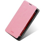 Clamshell leather case for ZTE nubia Z5S nx503A