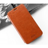 Clamshell Leather Case for ZTE nubia Z9MAX nx510j