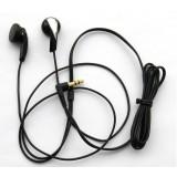 Classic Black earbud headphones