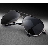 Classic men and women general frog mirror sport glasses polarized sunglasses Prevent ultraviolet driving sunglasses