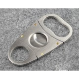 Classic series stainless steel cigar cutter