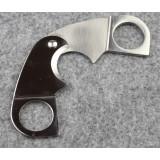 Classic stainless steel cigar scissor