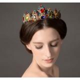 Color Crystal Crown Hair Accessories
