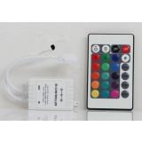 Colorful 12V Infrared remote RGB Controller for LED Strip Lights