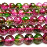 Colorful crystal beads chain
