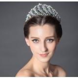 Colorful rhinestones bridal hair accessories