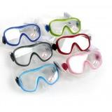 Comfortable waterproof anti-fog diving glasses