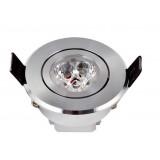 Cooling design 3W 3LED Ceiling Spot Light