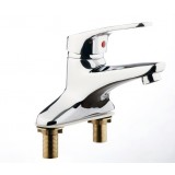 Copper vanities faucet hot and cold water