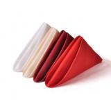 Cotton satin cloth napkins
