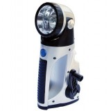 Crank Dynamo LED Flashlight + camping lights