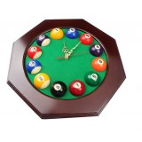 Creative billiard balls wall clock