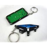 Creative billiards table keychain