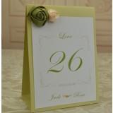 Creative customize wedding seating cards