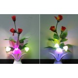 Creative potted plants light control LED Night Light