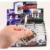 Creative prank electric shock poker lighter