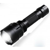CREE R5 rechargeable waterproof LED Flashlight for riding
