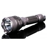 CREE U2 rechargeable bright flashlight / waterproof riding tactical