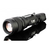 CREE U2 riding Rechargeable zooming LED Flashlight