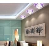 Crystal 3W LED ceiling lights