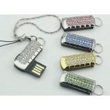 Crystal jewelry usb flash drive