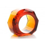 Crystal napkins ring