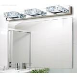 Crystal white light LED mirror front lights