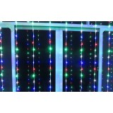 Curtain 540 LED holiday lights