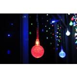 Curtain Balls LED holiday lights