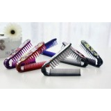 Cute folding antistatic mini comb