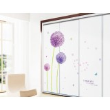 Dandelion children's bedroom wall stickers