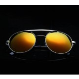 Dazzle colour reflective sunglasses