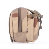 Desert camouflage small digital camera bag