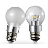 Dimmable 3-5W E27 SMD LED ball bulbs