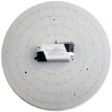 Disc-shaped 3-48W 2835 SMD LED light panel