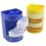 Double color multifunction pen holder