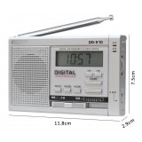 DR-910 high-sensitivity 11-band portable radio