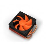 Dual heat pipe graphics card fan