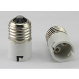 E27 to B22 LED bulb socket converter