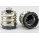 E40 to E27 LED bulb socket converter