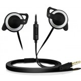 Ear Hook Headphone with Microphone