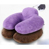 Elastic cotton U-neck pillow