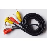 Elbow and right angle AV cable / audio video cable