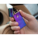 Electric arc USB metal windproof lighter