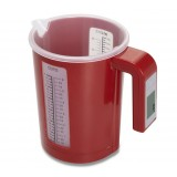 Electronic kitchen measuring cup / plastic cup