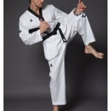 Embroidery white taekwondo clothes