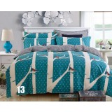 Euro style 4pcs pure cotton bedding sheet set